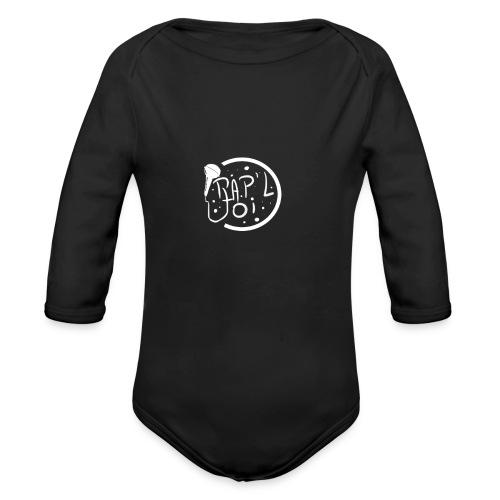 Casquette Logo Rap - Body Bébé bio manches longues