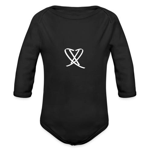 DD Box Logo Tee - Langærmet babybody, økologisk bomuld