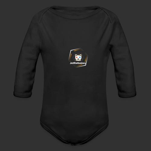 Nieuw JRG Logo - Baby bio-rompertje met lange mouwen