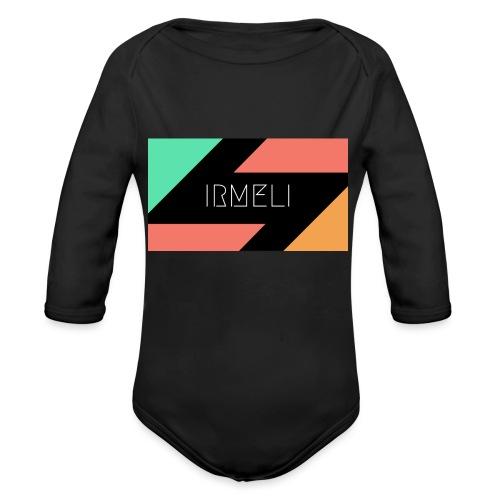 Irmelis Logo glothes - Vauvan pitkähihainen luomu-body