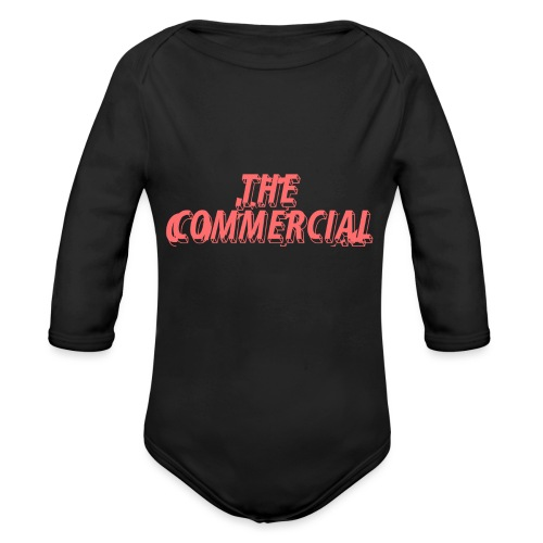 The Commercial Design #1 (Salmon - Organic Longsleeve Baby Bodysuit