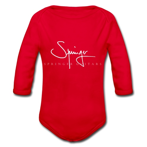 Logo Springer Guitars - Body Bébé bio manches longues