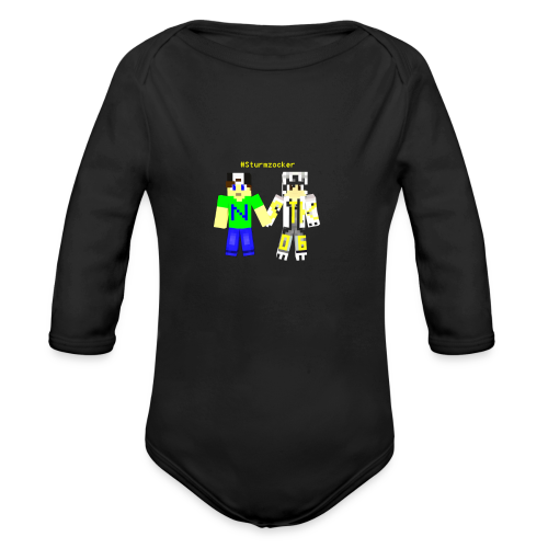 varox2_v1_design_2 - Baby Bio-Langarm-Body