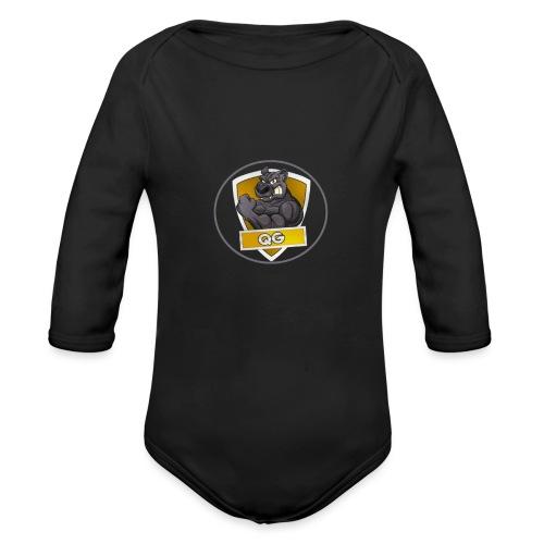 QUICK GAMING - Organic Longsleeve Baby Bodysuit