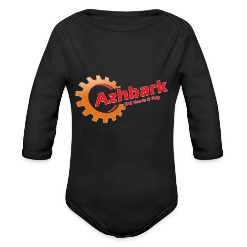 Azhbark Logo - Langærmet babybody, økologisk bomuld