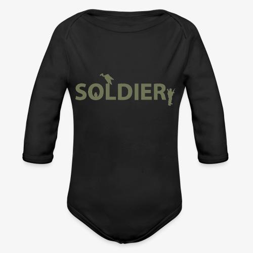 Soldier Series - Organic Longsleeve Baby Bodysuit