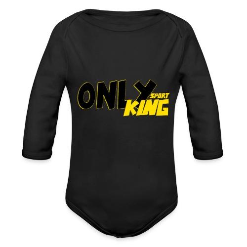 OnlyKing Sport Design - Body Bébé bio manches longues