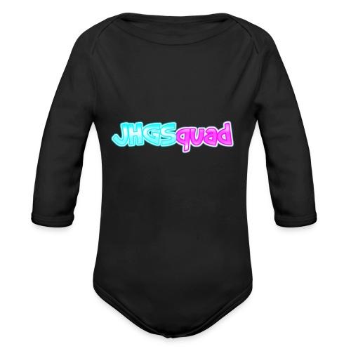 JHGSquad pet - Baby bio-rompertje met lange mouwen
