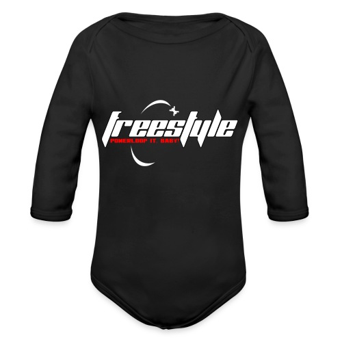 Freestyle - Powerlooping, baby! - Organic Longsleeve Baby Bodysuit