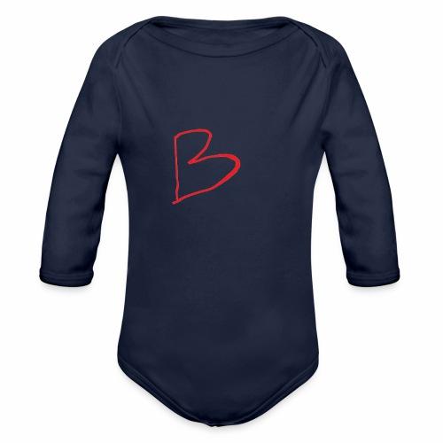 limited edition B - Organic Longsleeve Baby Bodysuit