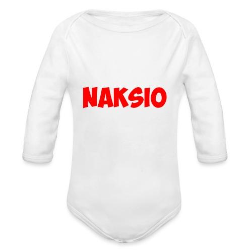 T-shirt NAKSIO - Body Bébé bio manches longues