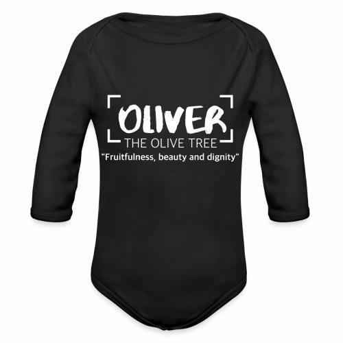 oliver - Vauvan pitkähihainen luomu-body