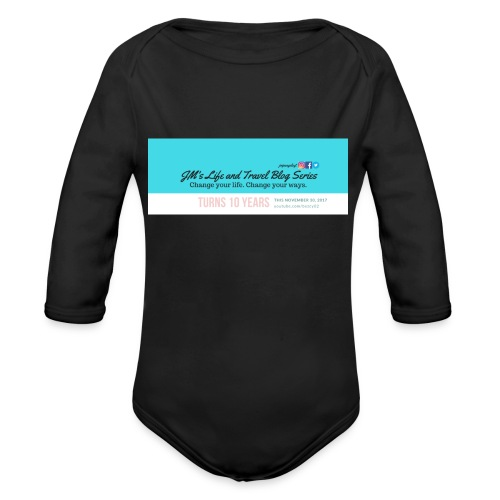 JMLTBS Turns 10 - Organic Longsleeve Baby Bodysuit