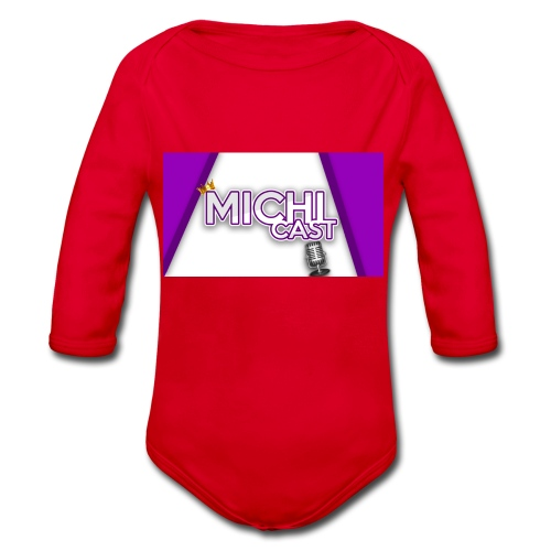 Camisa MichiCast - Organic Longsleeve Baby Bodysuit