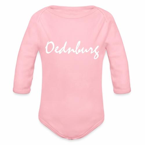 Oednburg Wit - Baby bio-rompertje met lange mouwen