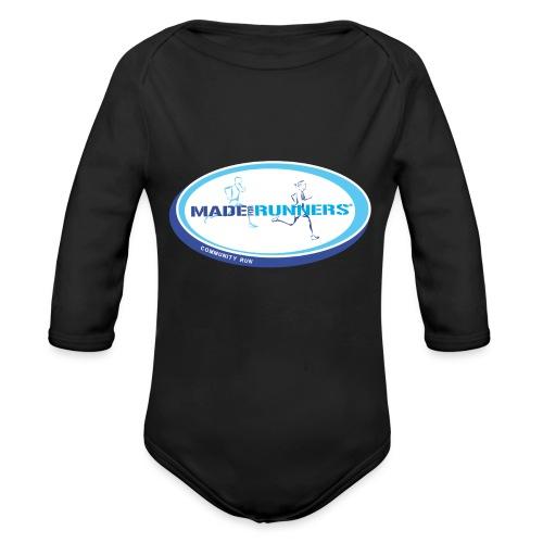 Made For Runners | Community Run - Body ecologico per neonato a manica lunga