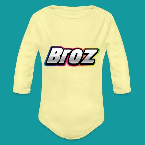 Broz - Baby bio-rompertje met lange mouwen