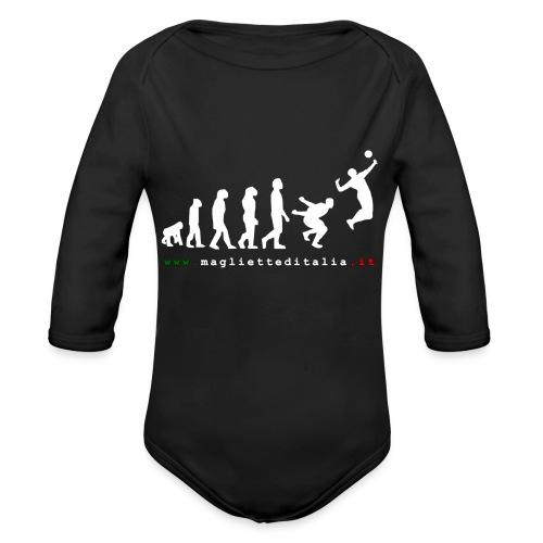 evolution volley attack w new - Body ecologico per neonato a manica lunga