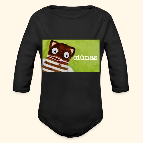 ciunas - Organic Longsleeve Baby Bodysuit
