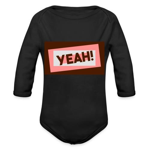 Teddy.Kidswear. – Yeah! - Baby Bio-Langarm-Body