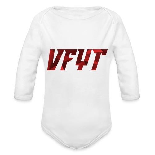 vfyt shirt - Baby bio-rompertje met lange mouwen