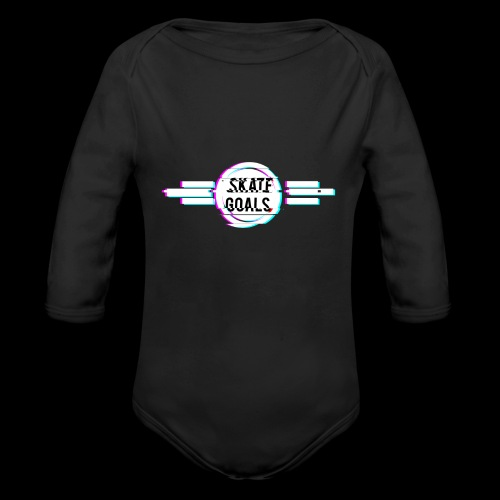 GLITCH SERIES - Baby bio-rompertje met lange mouwen