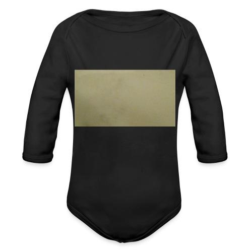 1511416685704631737378Marble t-shirt - Vauvan pitkähihainen luomu-body
