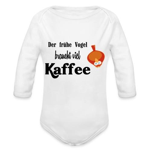 kaffeeVogel.png - Baby Bio-Langarm-Body