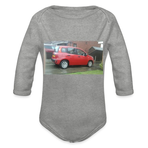 AWESOME MOVIES MARCH 1 - Organic Longsleeve Baby Bodysuit