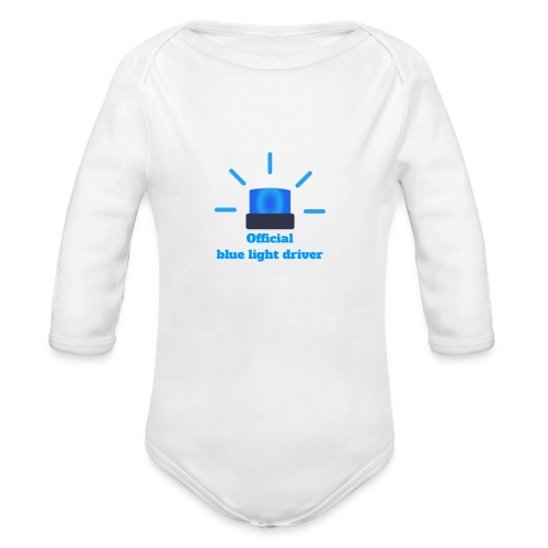 Blue light driver - Baby Bio-Langarm-Body