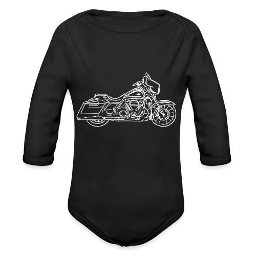 Motorcycle Streetglide - Body Bébé bio manches longues