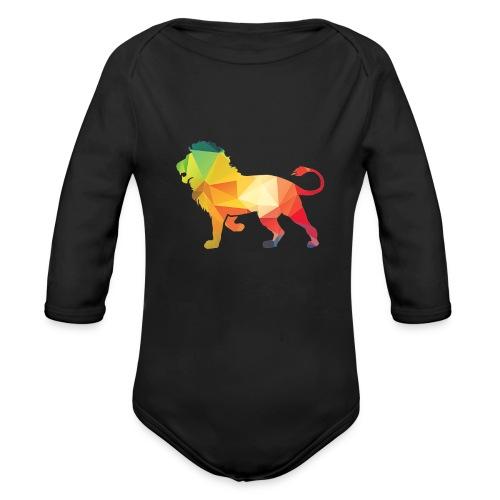 lion - Baby bio-rompertje met lange mouwen