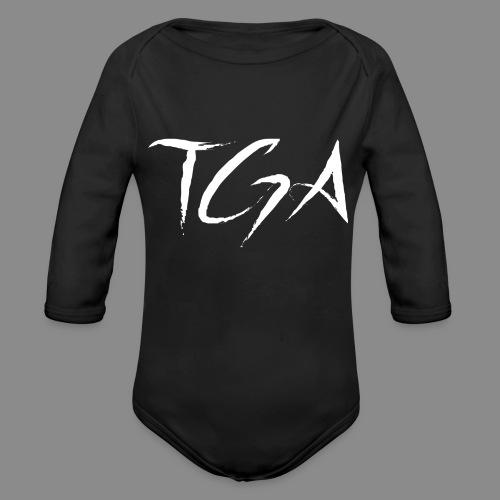 TGA (Hvit) - Økologisk langermet baby-body