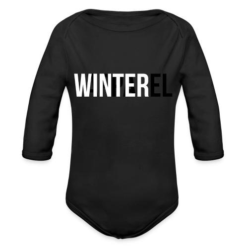 Winter Apparel Logo - Langærmet babybody, økologisk bomuld