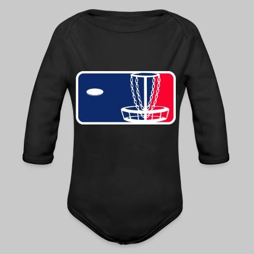 Major League Frisbeegolf - Vauvan pitkähihainen luomu-body