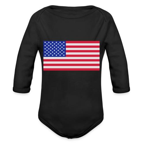 USA / United States - Baby bio-rompertje met lange mouwen