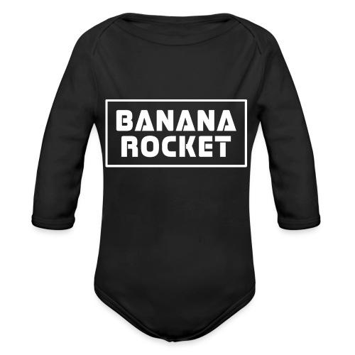 Banana Rocket Classic - Body ecologico per neonato a manica lunga