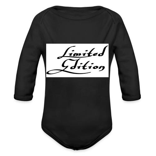 Limited edition - Vauvan pitkähihainen luomu-body