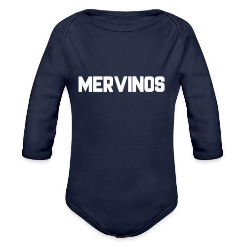 MerVinos - Baby bio-rompertje met lange mouwen