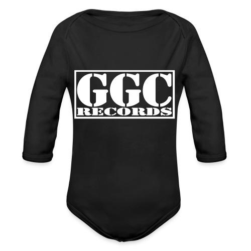 GGC-Records Label-Stempel - Baby Bio-Langarm-Body