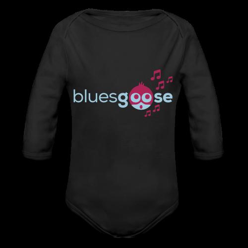 bluesgoose #01 - Baby Bio-Langarm-Body