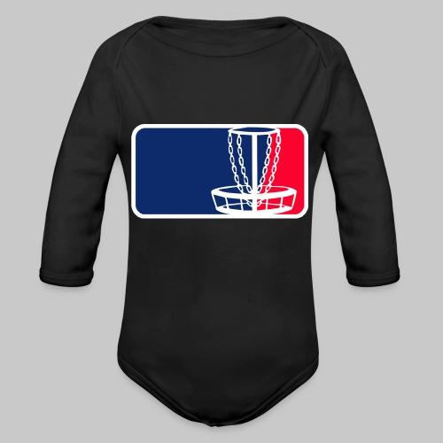 Disc golf - Vauvan pitkähihainen luomu-body