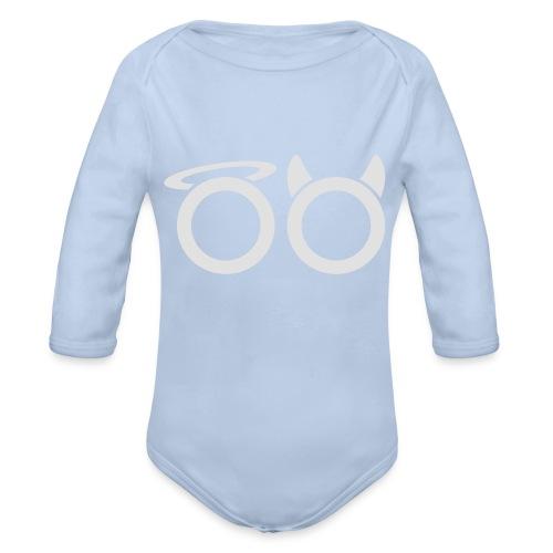 hvit svg - Organic Longsleeve Baby Bodysuit