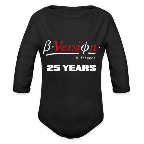 Beta- Version & Friends 25 Years - Baby Bio-Langarm-Body