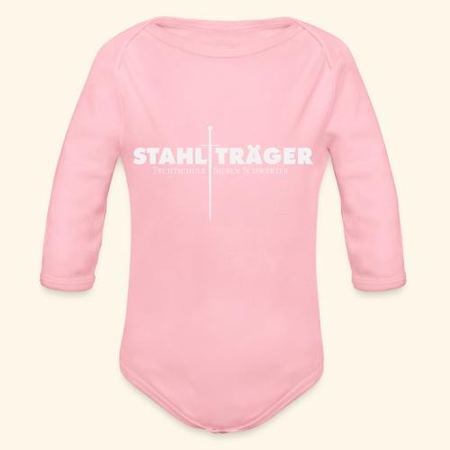 Stahlträger - Baby Bio-Langarm-Body