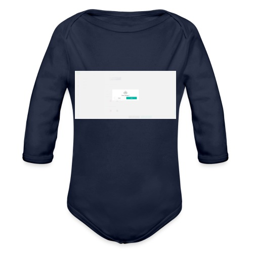 dialog - Organic Longsleeve Baby Bodysuit