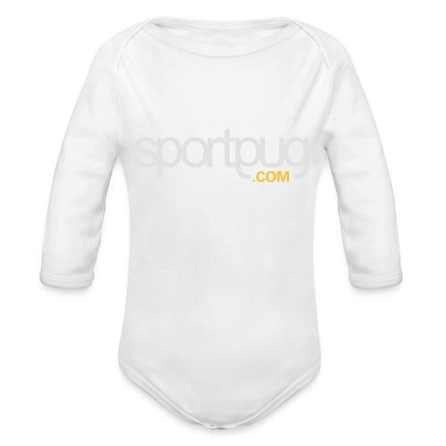 SportPug.com - Vauvan pitkähihainen luomu-body