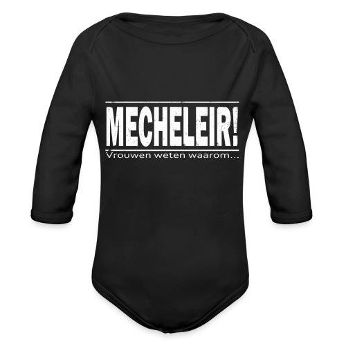 Mecheleir vrouwen - Baby bio-rompertje met lange mouwen