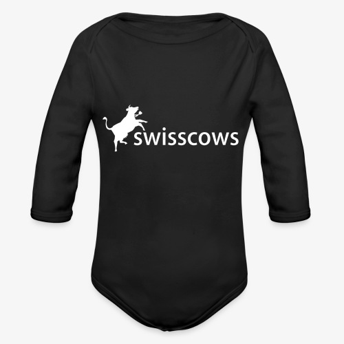 Swisscows - Logo - Baby Bio-Langarm-Body