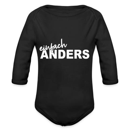 einfach ANDERS - Baby Bio-Langarm-Body